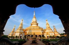 Temple wat thai Royalty Free Stock Photos