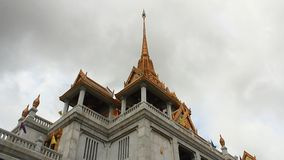 Temple of Wat Traimit, Golden Buddha stock video