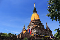 Temple Wat Yai Chai Mongkhon Royalty Free Stock Images