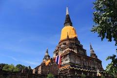 Temple Wat Yai Chai Mongkhon Royalty Free Stock Images