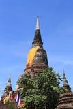 Temple Wat Yai Chai Mongkhon Stock Photo
