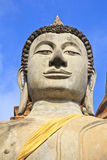 The temple of Wat Yai Chai Mongkol in Ayutthaya near Bangkok, Th Royalty Free Stock Image