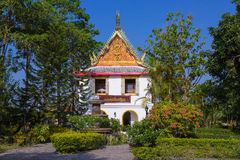 Temple Wathauymongkola. Wathauymongkola is faith of Buddhist in Huahin Royalty Free Stock Images