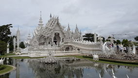 Temple white Wat Long Khun royalty free stock photos