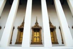 Temple window Stock Image