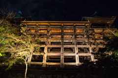 Temple of wooden structures Stock Image