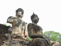 The temple at world heritage site Sukhothai, Thailand. Royalty Free Stock Photography