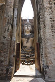 The temple at world heritage site Sukhothai, Thailand. Stock Images