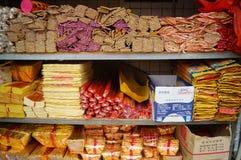 Temple worship incense Stock Photo