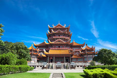 Temple of  Xichan in Fuzhou Royalty Free Stock Image