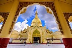 Temple in Yangon Stock Photos