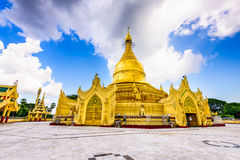 Temple in Yangon Royalty Free Stock Images