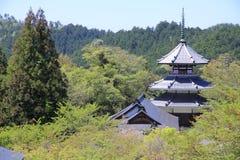 Temple in Yoshino Stock Image