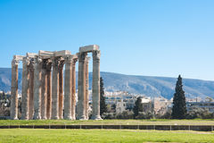 Temple of Zeus Stock Images