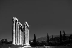Temple of Zeus royalty free stock photos