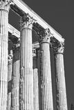 Temple of Zeus royalty free stock images