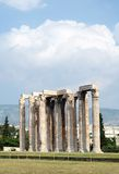 The Temple of Zeus Stock Images