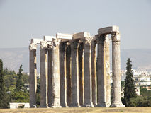 The Temple Of Zeus Royalty Free Stock Image