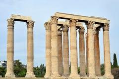 Temple of Zeus, Athens Royalty Free Stock Photo