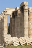 Temple of Zeus in Athens. Corinthian order. Greece Royalty Free Stock Photos