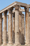 Temple of Zeus in Athens. Corinthian order. Greece Royalty Free Stock Photo