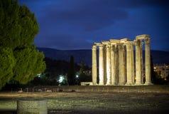 Temple of Zeus, Athens, Greece royalty free stock photo
