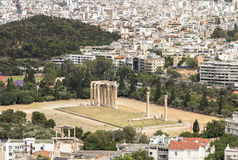 Temple of Zeus, Athens, Greece Royalty Free Stock Image
