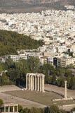 Temple of Zeus in Athens. Greece Stock Photos