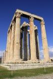 Temple of Zeus,corner Royalty Free Stock Photography