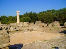 Temple of Zeus - Greece Stock Image