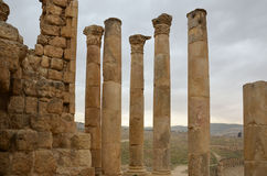 Temple of Zeus, Jerash Royalty Free Stock Images