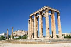 Temple of Zeus, Olympeion, Athens, Greece Stock Image