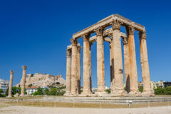 Temple of Zeus, Olympeion, Athens, Greece Stock Images