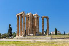 Temple of Zeus, Olympeion, Athens, Greece Stock Photography