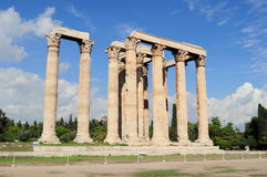 Temple of Zeus, Olympia, Greece. Royalty Free Stock Photos