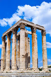 Temple of Zeus, Olympia, Greece. Image of the ancient Temple of Zeus, Olympia, greece Royalty Free Stock Photography