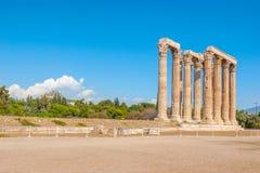 Temple of Zeus Olympian Royalty Free Stock Photos