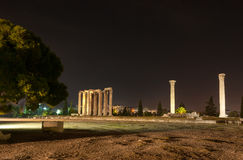 The Temple of Zeus Olympian Royalty Free Stock Images