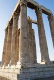Temple of zeus in athens Royalty Free Stock Images