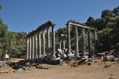 Temple of Zeus Stock Image
