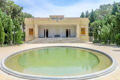 Temple Zoroastrian 01 de Yazd Atashkadeh photographie stock libre de droits