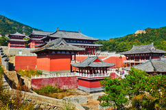 The temple of Zu mountain Stock Images