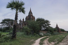 Templen av Bagan royaltyfri foto