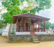 Templen av det Natha Devale komplexet Arkivfoton