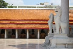 Temples à Bangkok, ciel, Thaïlande, Bangkok, culture image stock
