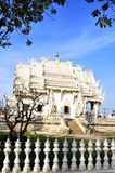Temples. Exquisite beauty of the white temple Royalty Free Stock Photo