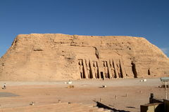 The temples of Abu Simbel in Egypt. The Ramses temples of Abu Simbel in Egypt royalty free stock photography