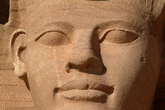 The temples of Abu Simbel in Egypt. The Ramses temples of Abu Simbel in Egypt royalty free stock photos