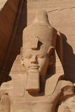 The temples of Abu Simbel in Egypt. The Ramses temples of Abu Simbel in Egypt stock photography