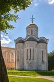 Temples of the ancient Russian city of Vladimir royalty free stock photos
